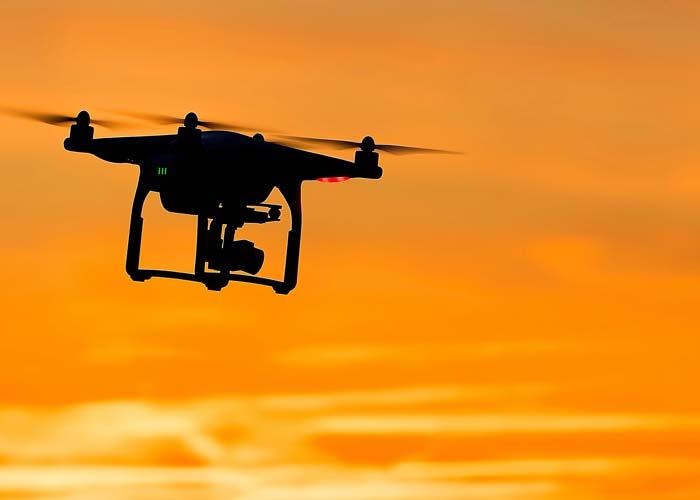 Uso de drones na área do CSCVL