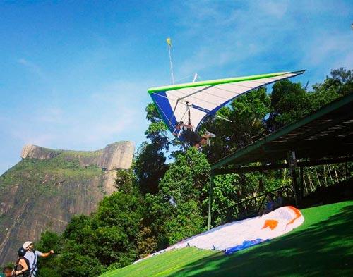 Como voar em São Conrado