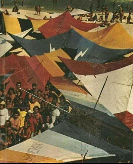 Asa delta - São Conrado anos 80