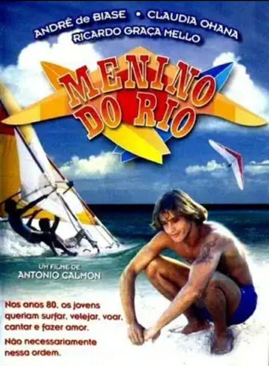 Cartaz do filme Menino do Rio