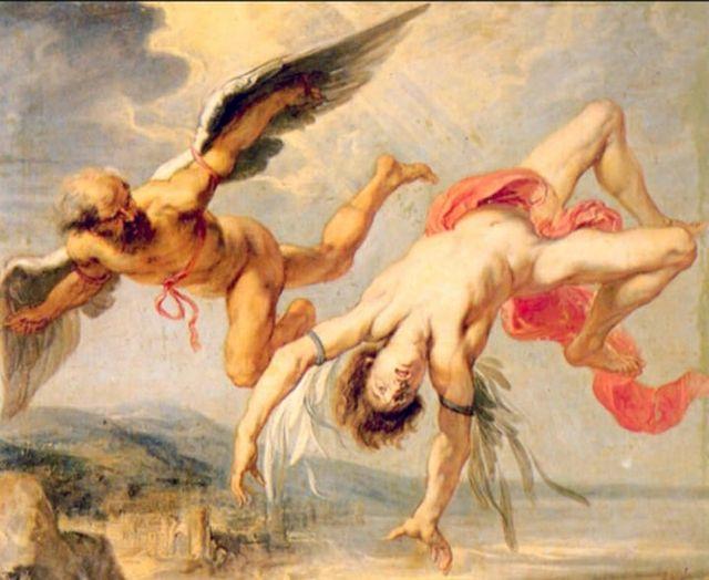Dédalo e Ícaro - O sonho do homem voar