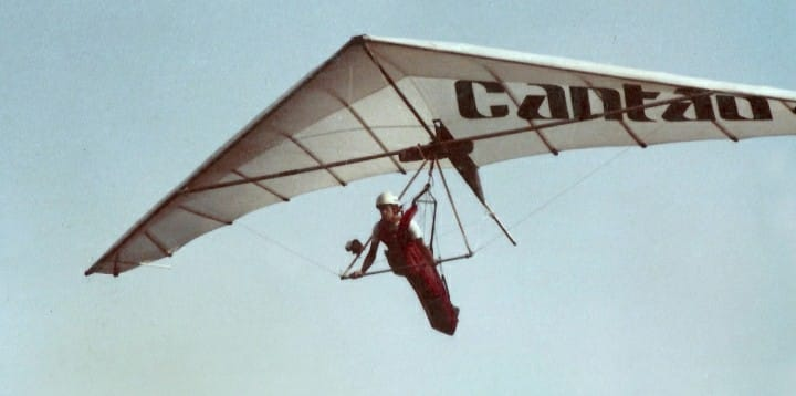 Anos 80 a era dos patrocínios no voo livre