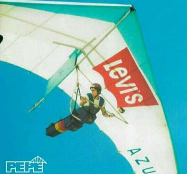 Pepê - Campeão Mundial de Asa Delta em 1981